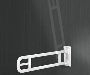 Barra de apoyo abatible nylon 600 mm